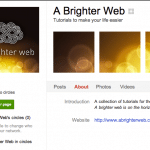 Google+: Add tiled images to your Google+ page