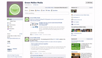 Facebook: How to post as your business page