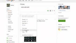 Google+: Controlling the privacy of your posts