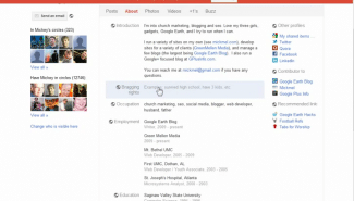 Google+: How to customize your profile