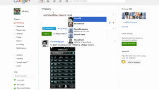 Google+: Tagging other users in your posts