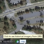 Google Earth: Using the Historical Imagery feature