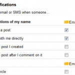 Google+: Managing your notifications