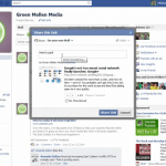 Facebook: How to share content from your business page with your friends