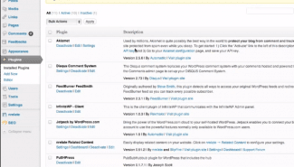 WordPress: Adding a plug-in to your blog