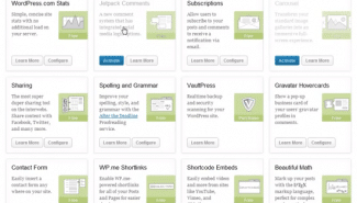 WordPress: How to use the Jetpack plug-in