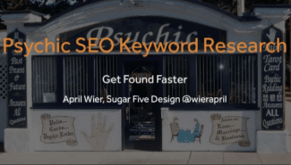 Meetup: Psychic SEO Keyword Research