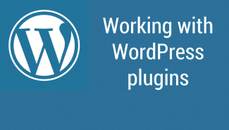 WordPress: Working with plugins