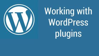 WordPress: Working with plugins