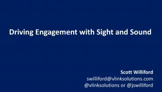 Meetup: Driving Engagement with Sight and Sound – The Power of Online Video