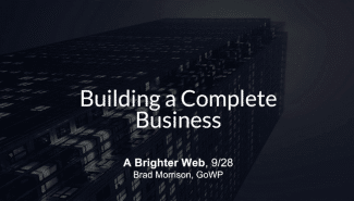 Meetup: Building a Complete Business with Limited Resources