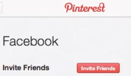 Pinterest: Following and Inviting Friends