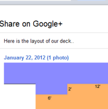Google+: Sharing images from Gmail